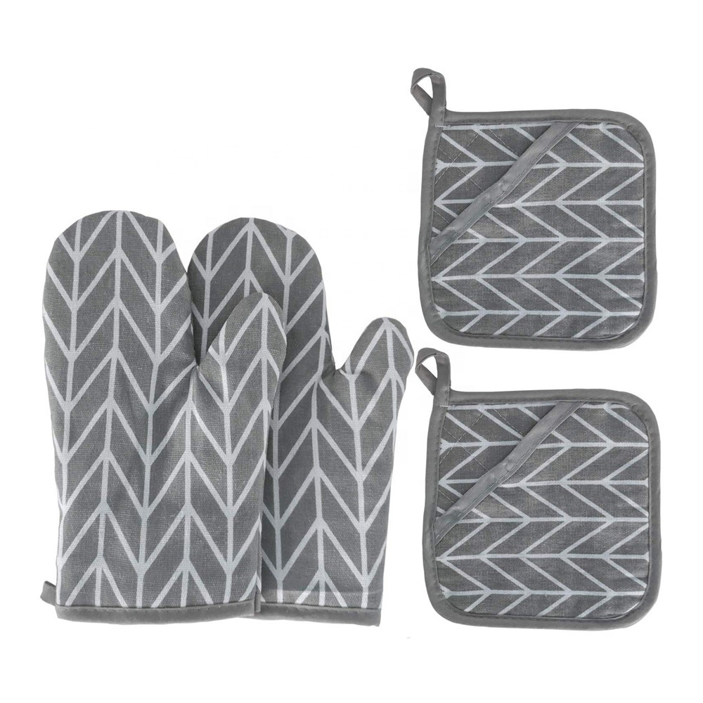Promotion Kitchen Oven Mitten Heat Resistant Pot Holder Cotton Oven Mitts Buy Cheap Oven Mitts Custom Oven Mitts Embroidered Oven Mitts Product On Alibaba Com