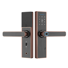 Door Lock For Sliding Door Locks Glass Door Fingerprint Lock Biometric Remote Automatic For Double Door/Sliding
