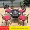 7-стульев (4 в 1 круглого стола D106cm