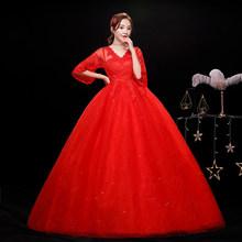 Женское свадебное платье It's YiiYa, кружевное платье с вышивкой и коротким рукавом для беременных, размеры плюс, XXN247(China)