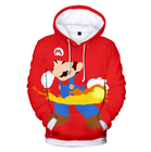 UFOGIFT Unisex Men Women Kids Super Mario Hoodie Outwear Jacket