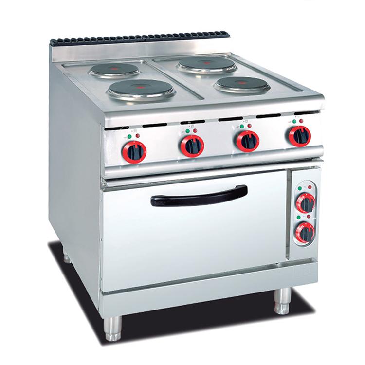 Оптовая продажа оборудования для общественного питания Высокое Качество Отель Ресторан коммерческий Китай 4 горелки газовая плита диапазоны с духовкой