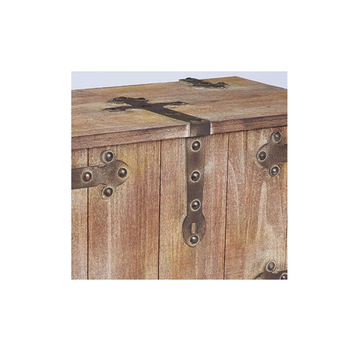 Household essentials trunks standard large container handmade wood storage box furniture