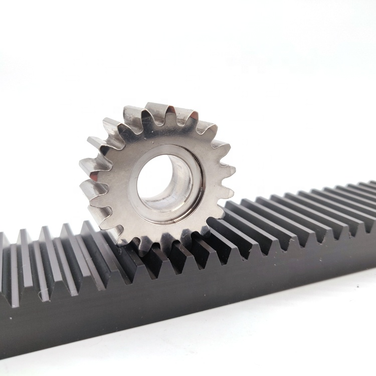 China Supplier Customized Brass Stainless Steel Plastic Spur Rod Stock Rack Gear