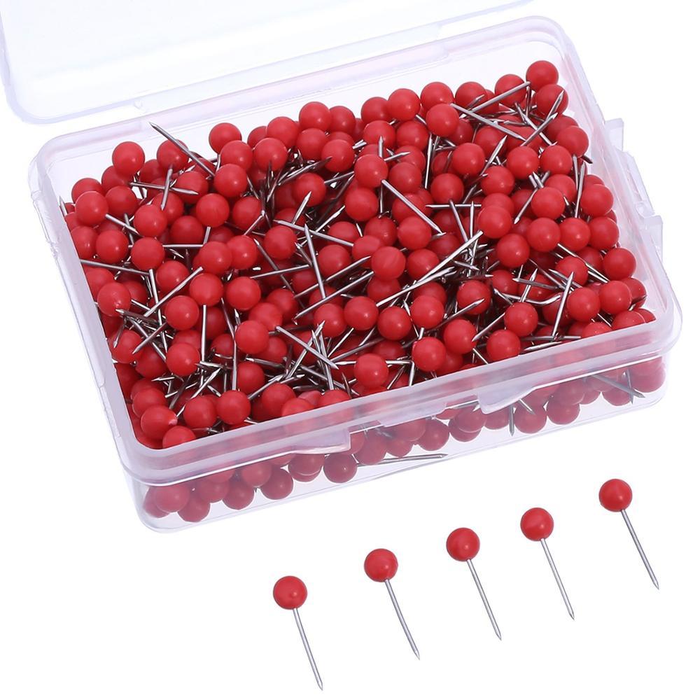 Шариковая головка 4*15 мм, зажимные булавки с 200 шт. в пластиковой коробке