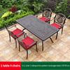 16-4 JL chair 1 oblique line pattern table 170*87cm