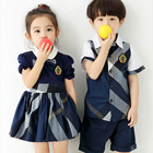 Custom Manufacturer of Kids Primary Kindergarten Preschool School Uniform Fashionable Design for Boys and Girls