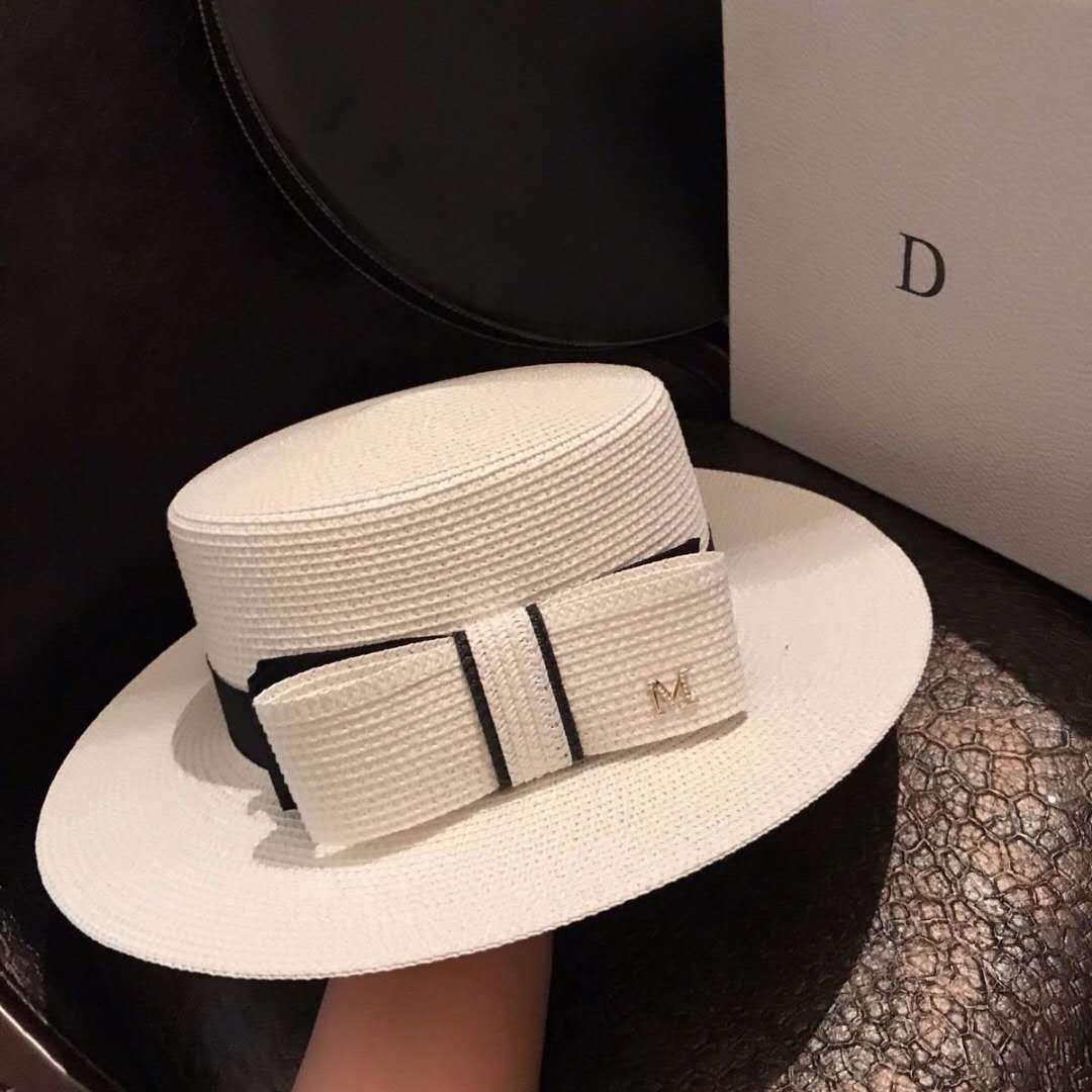 2021 новый стиль плоская соломенная шляпа шерстяная фетровая шляпа Солнцезащитная шляпа для путешествий MScap252