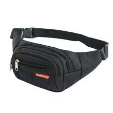Поясная Сумка Jodimitty Unsex, черная водонепроницаемая сумка для денег, для мужчин и женщин, спортивный дорожный кошелек, поясные сумки, чехол для ...(Китай)