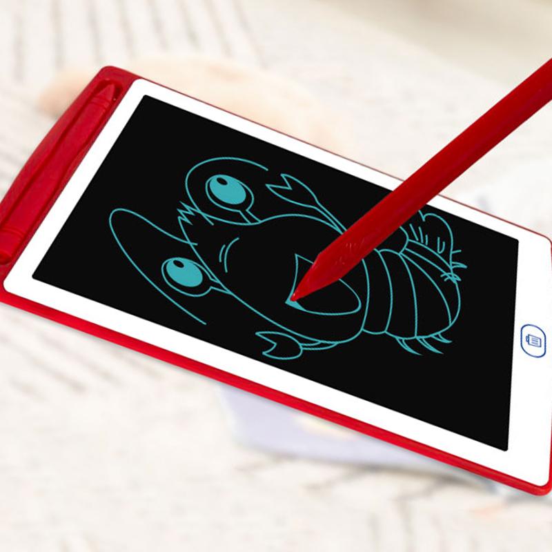 CE RoHs FCC certificate board classroom board 12 inch smart notice board lcd writing tablet digital memo pad