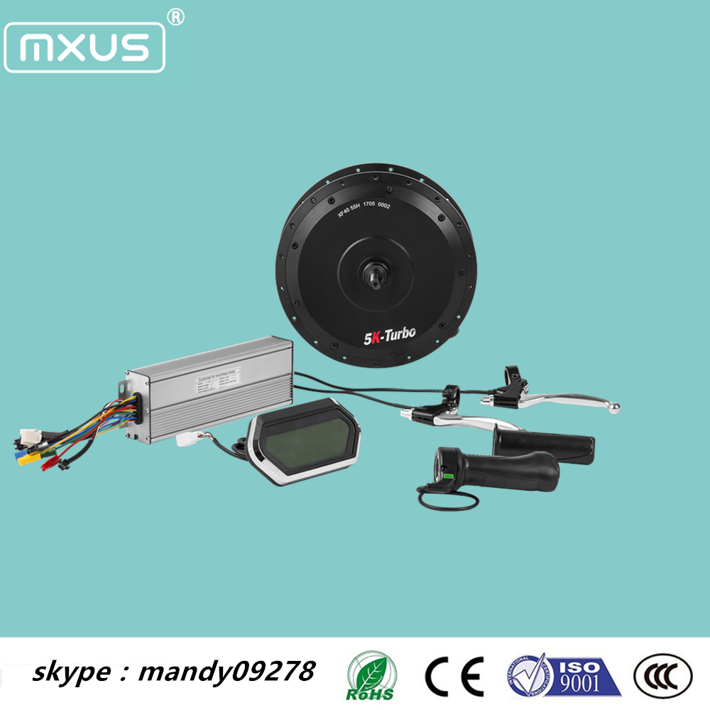 Best price Mxus 72V 5000w DDR5K rear wheel motor for electric bike kit