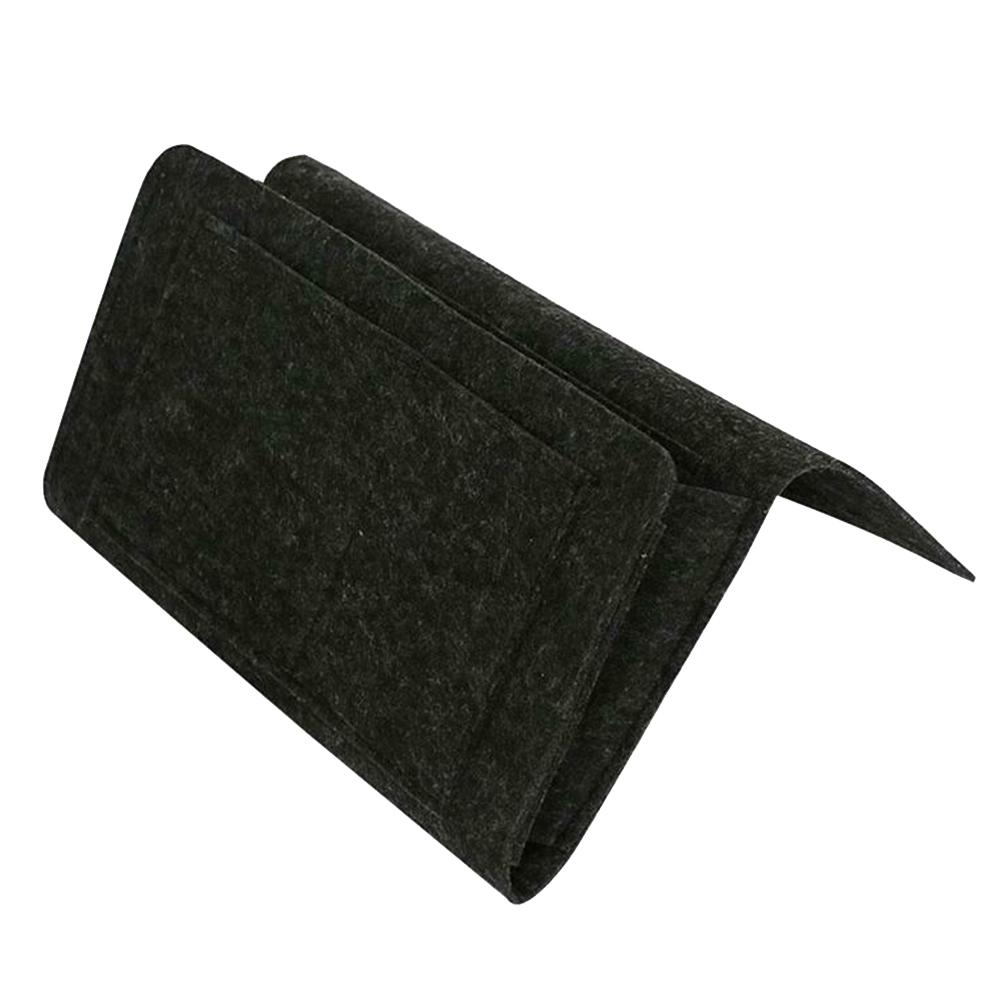 Прикроватная фетровая сумка для хранения с карманами, кровать, диван, стол, подвесной органайзер для телефонов, журналов, планшетов, пультов...(Китай)