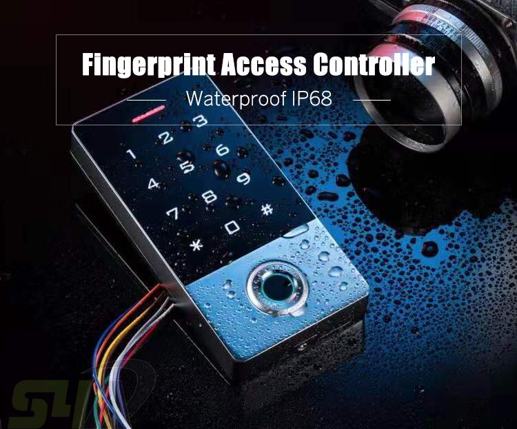 WiFi Access Control System Touch Screen Biometric Fingerprint Standalone Keypad