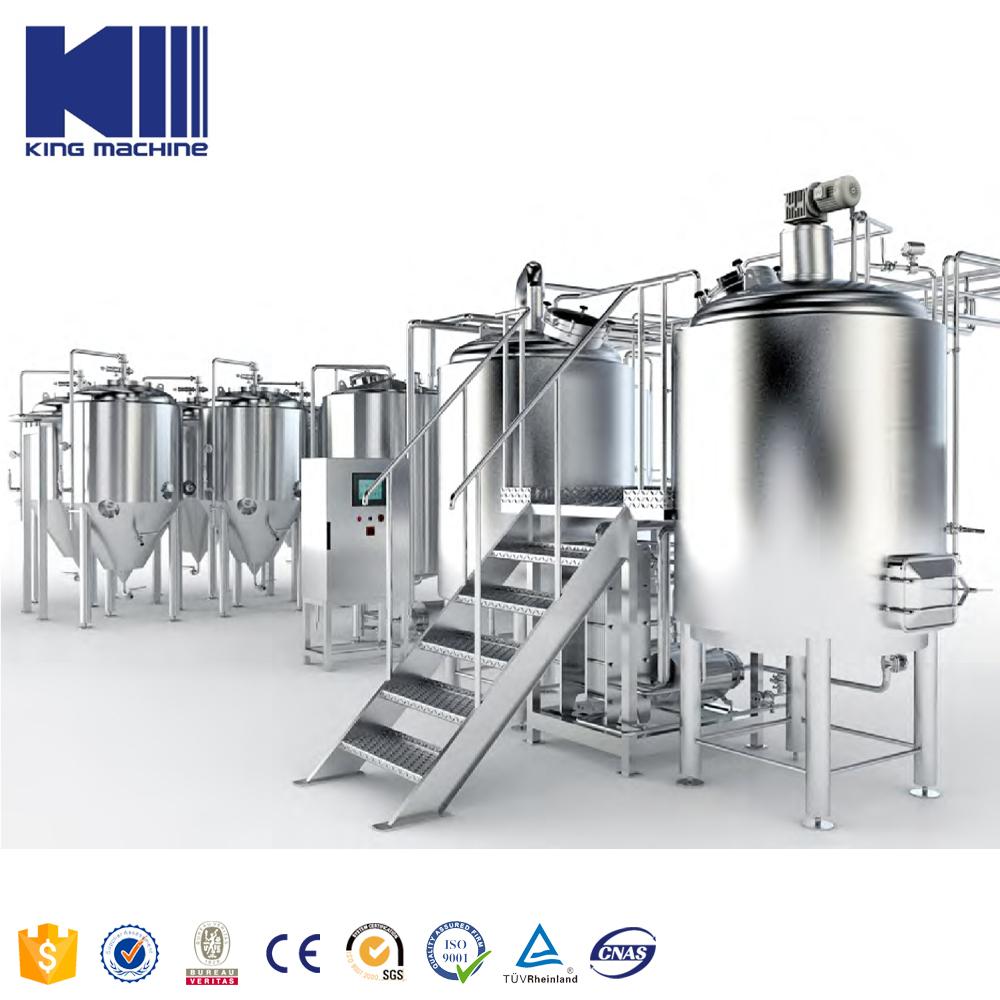 Целое оборудование пиво Пивоваренная машина 5 hl 10 hl 17 hl