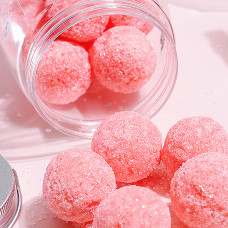 Body Scrub Exfoliator Natural Organic Vegan Exfoliating Candy Sugar Body Scrub Cubes