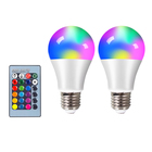 Led RGB light 3000k-6500k E26/E27 connection light bulb wiff rgb bulb