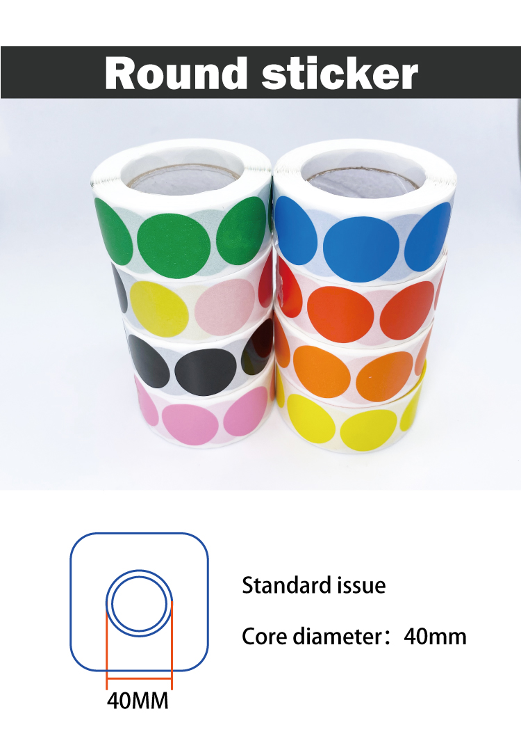 Wholesale Dubble Side For Lip Gloss Mint Tin With Custom Sticker Round Stickers