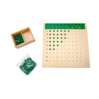 Educational Cheap Hot Sale Top Quality Montessori Board Wooden Educational Boards Unit Division Board