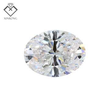 Factory wholesale IGI certified 2ct 3ct 5ct EFHI VVS VS SI diamant CVD oval lab grown diamond For Pigeon Egg Engage diamond ring