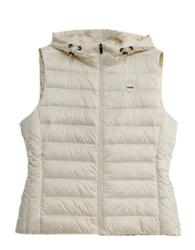 wholesale warm lightweight chaleco hooded women puffer winter waistcoat warm down vest