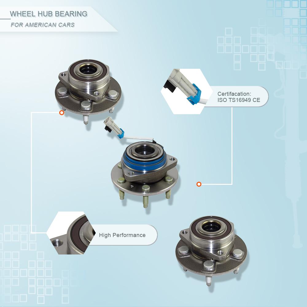 ZPARTNERS wheel hub bearing unit for Honda Odyssey 2015- post Honda Alice 2013- post 42200-T6A-J51