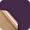 13 oscuro púrpura + oro