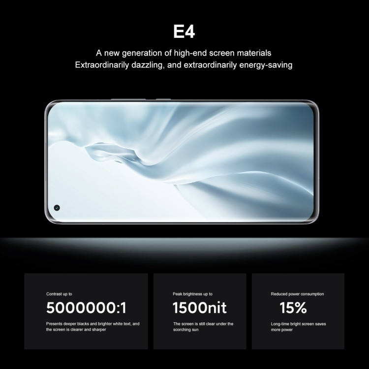 Xiaomi Mi 11 5G Mobile Phone Snapdragon 888 6.81inch Four-curved Flexible Screen 7