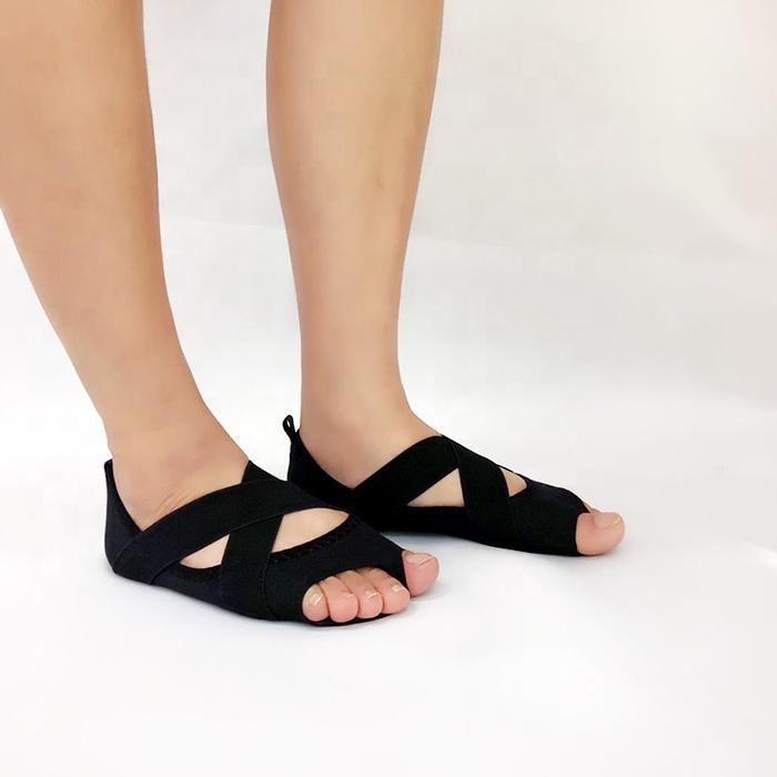 Women's aerial yoga leash yoga shoes silicone yoga socks women non-slip socks training dance shoes