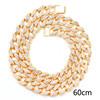 Gold 60cm necklace