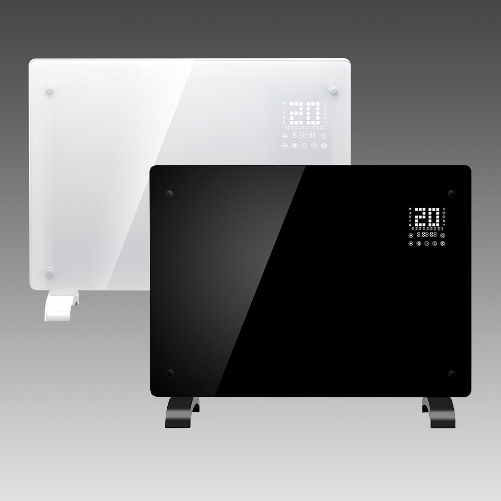 Wall mounted panel convection electric heater