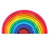 12pcs/set rainbow block