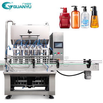 Best Price 100~1000ml Automatic Filler Liquid Soap Detergent Filling Machine Machine Production Line