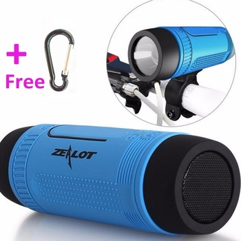 Zealot S1 bicycle bike cycling bluetooth speaker with led light