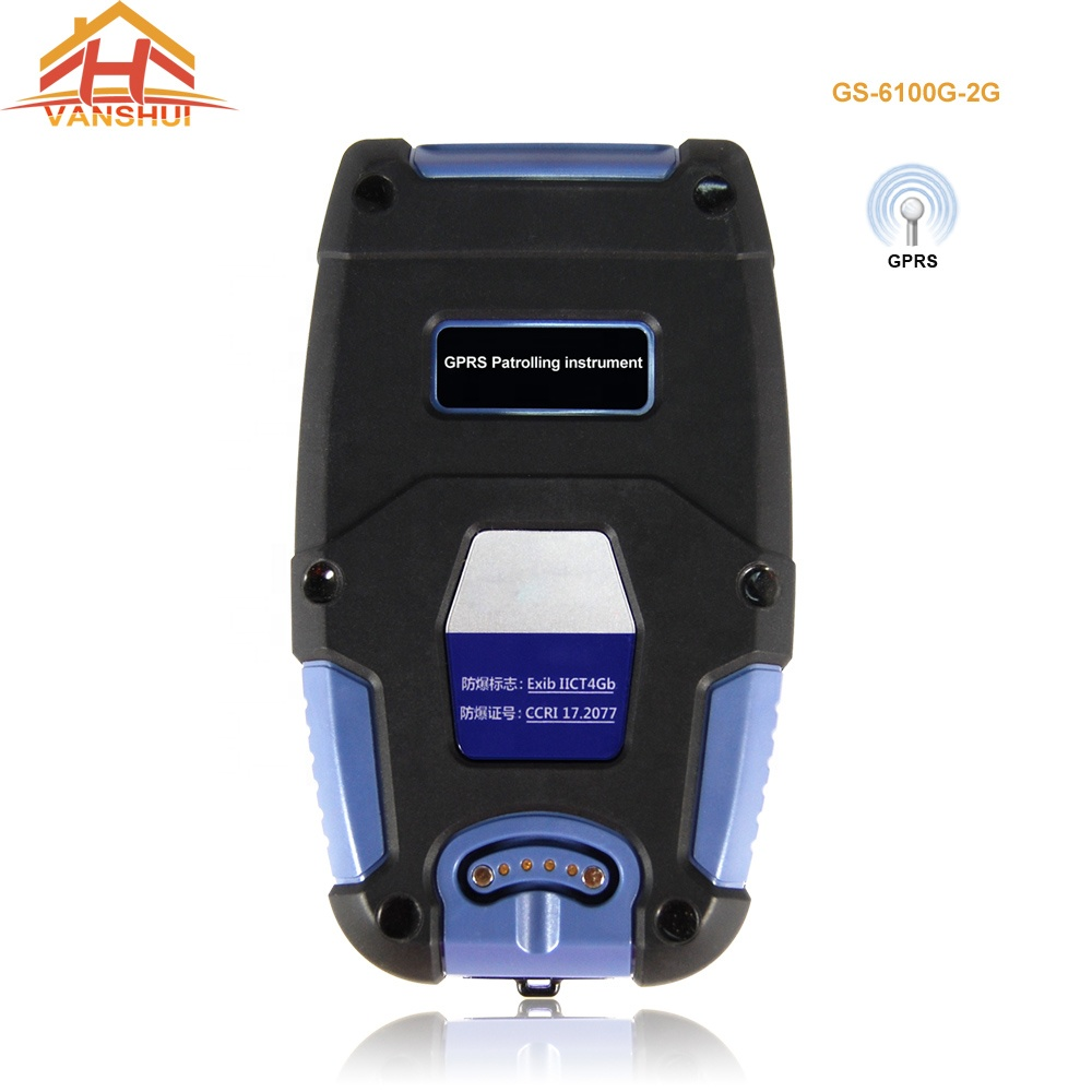 GPRS Guard Patrol and Battery RFID Card System With USB Port Waterproof IP68 (GS-6100G-2G)