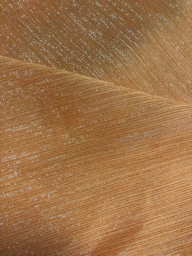 Натуральное использование для модных платьев, роскошная китайская блестящая шифоновая ткань, полиэстер