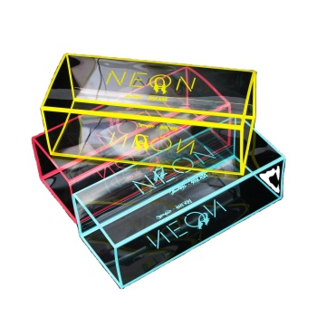 custom logo printing brand rigid clear shipping packaging plastic boxes transparent PVC food toy cake gift packaging plastic box