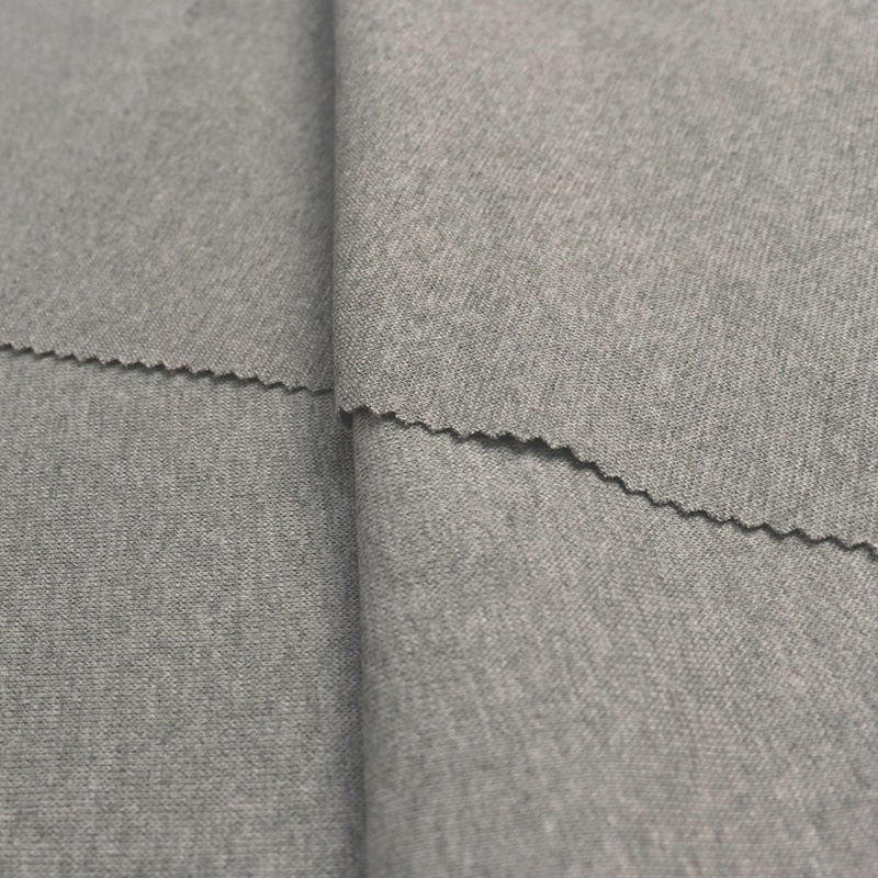 High quality custom rib knit fabric clothing material fabric 1x1 knit cotton ribbing fabric for cuff and sleeve