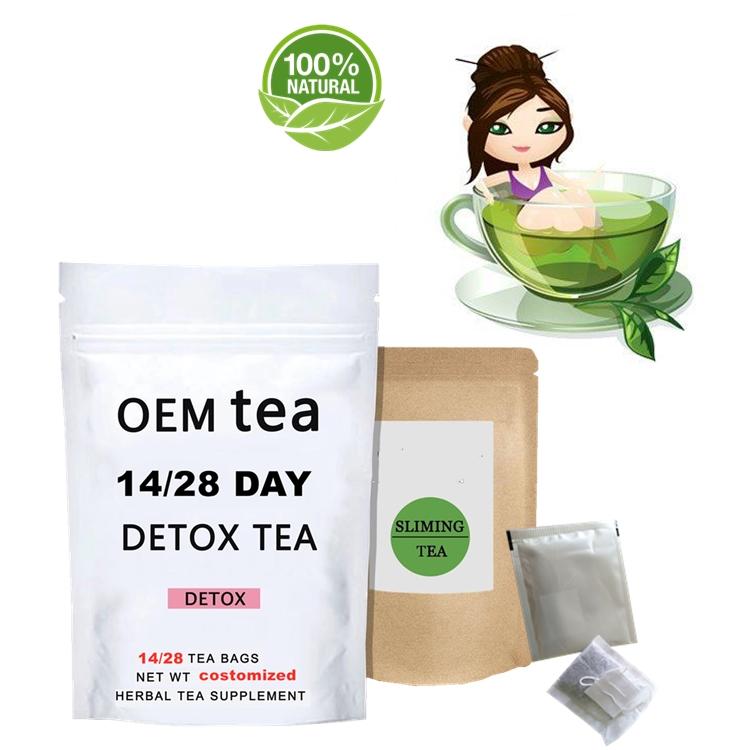 Unisex Gender and Organic Feature easy slim tea private label weight loss slimming detox tea OEM - 4uTea | 4uTea.com
