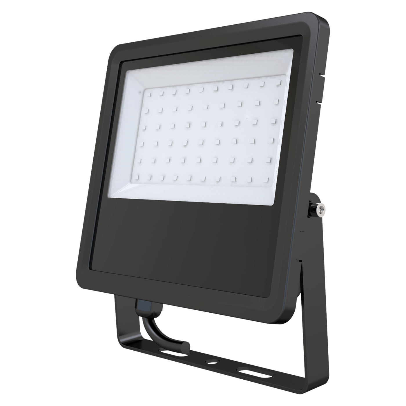 Cost-effective structure concise waterproof anti siphon intelligent lighting flood light