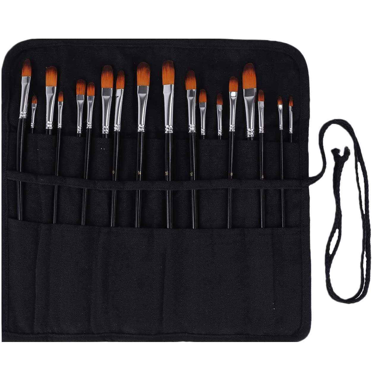 Makeup Brush Holder Artist Brush Bag Brush Organizer Artist Roll Makeup Brush Roll Brush Roll Pen Roll Makeup Brush Travel Bag