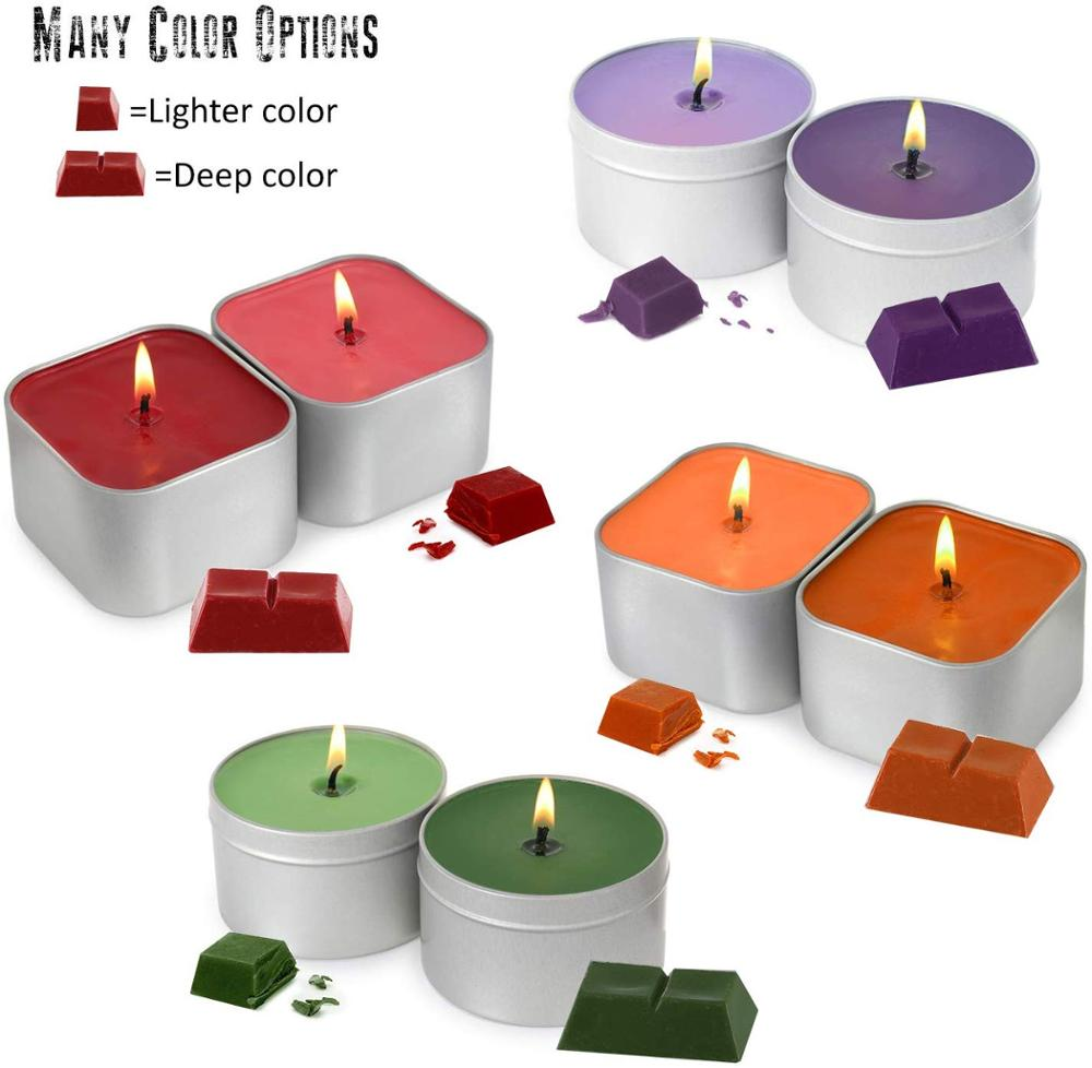 DIY Scented Soy Wax Candles Making Kit Supplies in Tins