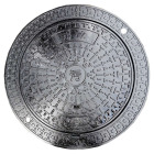 Cover Cast Iron Manhole Cover En124 B125 From Manufacturer