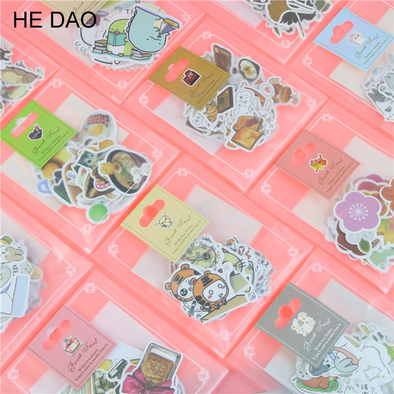 Decorative Stickers Adhesive Stickers Scrapbooking DIY Decoration Cute Cartoon Stickers