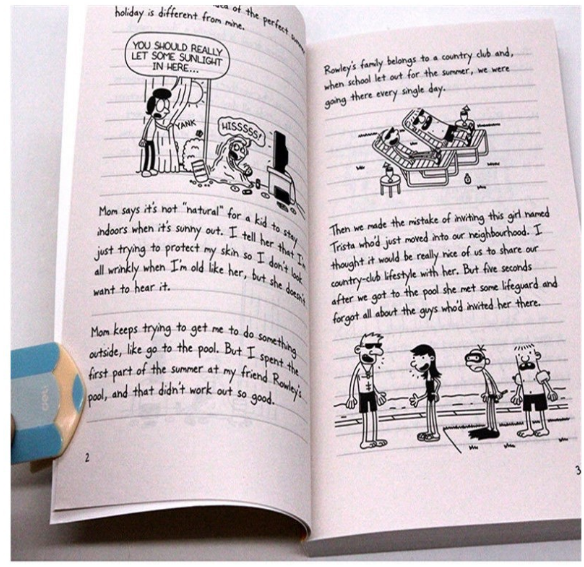 Wholesale Diary of a Wimpy Kid Well Priced Coloring children story Book set for kids,a set of 16 books
