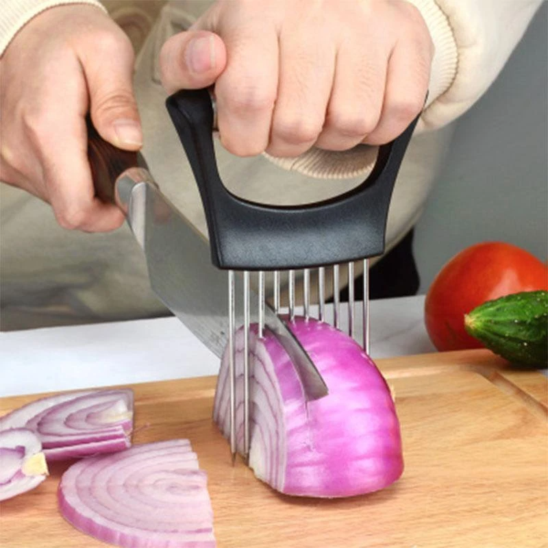 Держатель для нарезки машина из нержавеющей стали для пищевой промышленности лук держатель резак для нарезки лука помидор картофеля