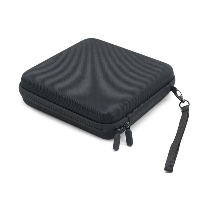 ODM&OEM factory Fashionable Custom EVA Molded CD/DVD/Record Storage Case cd dvd case tool case