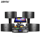 Professional Dirtis Audio Amplifier 10 Inch Professional Home Theater Party Sound Karaoke Speaker Audio System