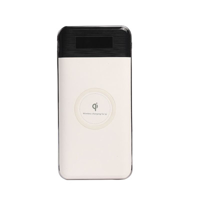 2021 wholesale 10000 mah mobile phone wireless charger power bank for iphone