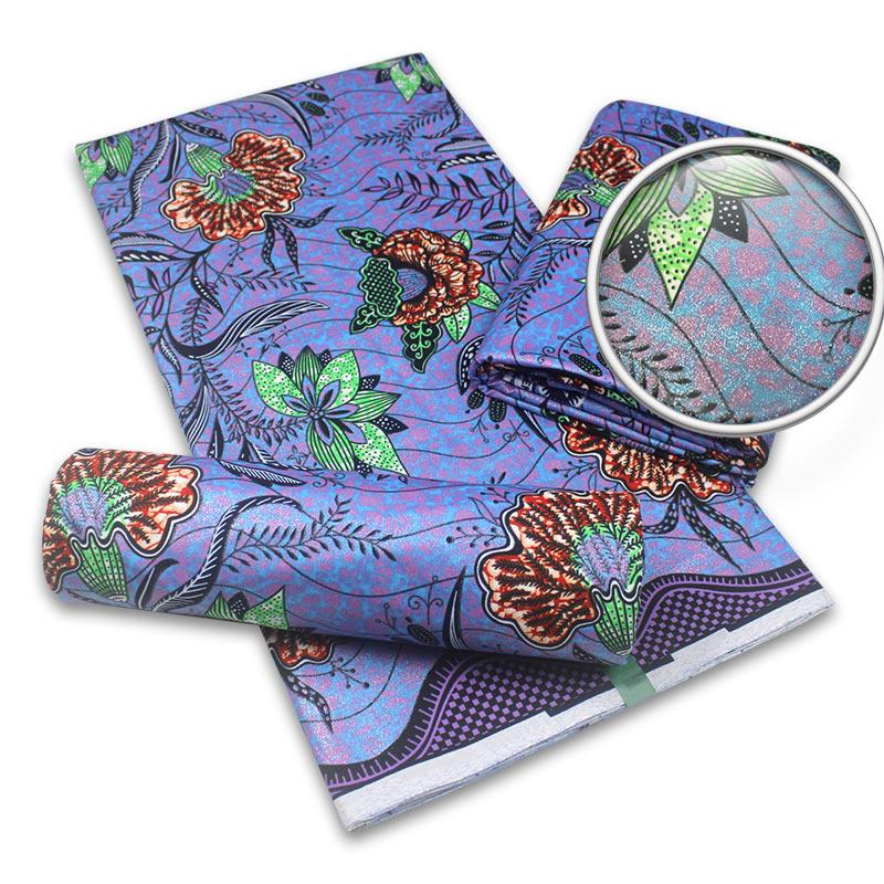 Wholesale 100% cotton ankara grand wax nigeria golden wax print exclusive holland wax