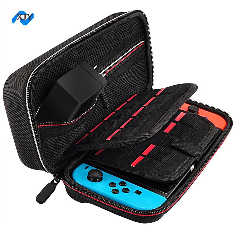 Сумка из ЭВА с молнией, защитный Дорожный Чехол для игровых карт Nintendo Switch System 29